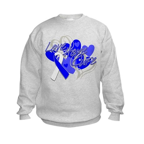 ALS Love Hope Cure Kids Sweatshirt