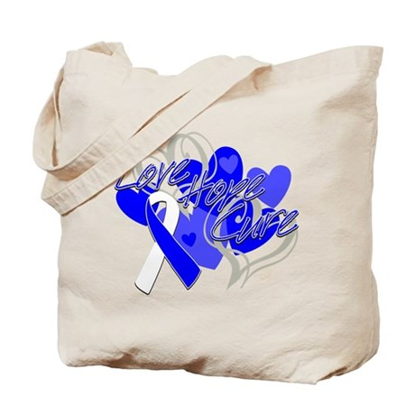 ALS Love Hope Cure Tote Bag