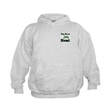 Yes, It's A Hemi Tractor Kids Sweatshirt