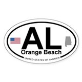 Orange Beach Decal
