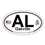 Oakville Decal