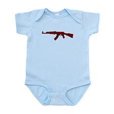 Grunge AK-47 Infant Bodysuit