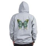 Abundance Butterfly B Zip Hoody