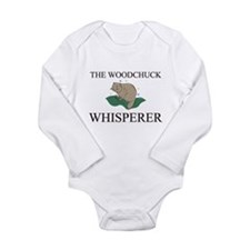 The Woodchuck Whisperer Long Sleeve Infant Bodysui