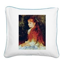 REnoir Square Canvas Pillow