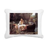 John William Waterh... Rectangular Canvas Pillow