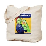Zombie Rosie the Riveter - You Can Chew It! Tote B