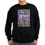 Heres to the Crazy Ones Sweatshirt (dark)