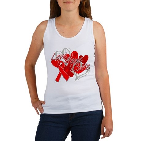 Blood Cancer Love Hope Cure Women's Tank Top
