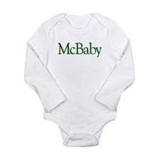 McBaby (Irish Baby) Long Sleeve Infant Bodysuit