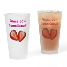 America's Sweetheart Drinking Glass