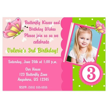 Home » birthday invitation » butterfly birthday invitations