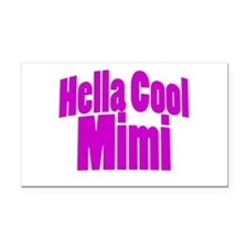 Hella Cool Mimi Rectangle Car Magnet