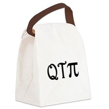 qtpi_blk.png Canvas Lunch Bag