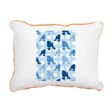 blue_Poodle_ipad.png Rectangular Canvas Pillow