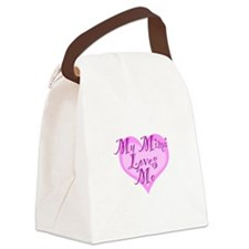 My Mimi Loves Me Canvas Lunch Bag