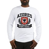 Azores Portugal Long Sleeve T-Shirt