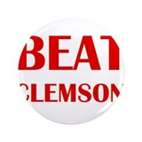 "Beat Clemson 3.5"" Button"