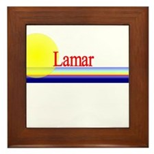 Lamar Framed Tile