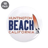"Huntington Beach 3.5"" Button (10 pack)"