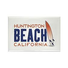 Huntington Beach Rectangle Magnet