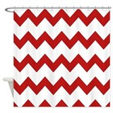 Red Shower Curtains | Red Fabric Shower Curtains - CafePress