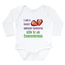 HeartSurgerySurvivor Long Sleeve Infant Bodysuit