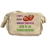 HeartSurgerySurvivor Messenger Bag