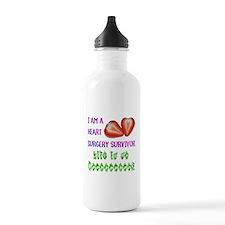 HeartSurgerySurvivor Water Bottle