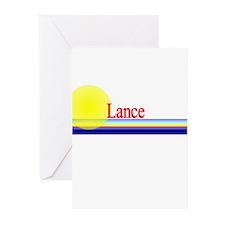 Lance Greeting Cards (Pk of 10)