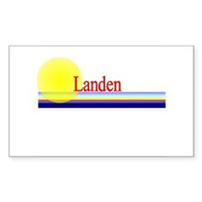 Landen Rectangle Decal