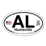 Huntsville Decal