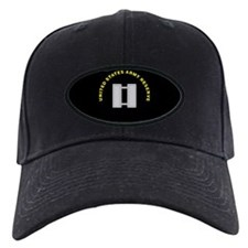 Black Army Reserve Cap: Captain