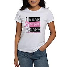 Pink Nana Breast Cancer Tee