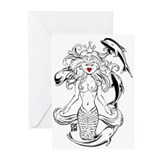 """THAT MERMAID GAL"" Greeting Cards (Pk of 20)"