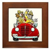 """THAT FIREMAN GUY/GAL"" Framed Tile"