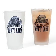 TwoClawsintheAirDontCare2.png Drinking Glass