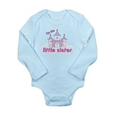 i'm the little sister castle Long Sleeve Infant Bo