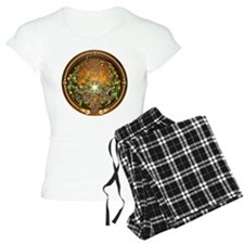 Sacred Celtic Trees - Vine pajamas