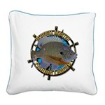 Bluegill Master Square Canvas Pillow