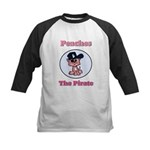 Peaches the Pirate.png Kids Baseball Jersey