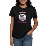 Peaches the Pirate.png Women's Dark T-Shirt