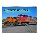 Mighty Trains Wall Calendar