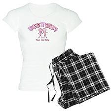 CUSTOM TEXT Besties Pajamas