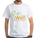 Live Well Network White T-Shirt