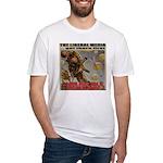 "Liberal Media ""Careless Talk"" Fitted T-Shirt"