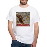 """Liberal Media """"Careless Talk"""" White T-Shirt"""