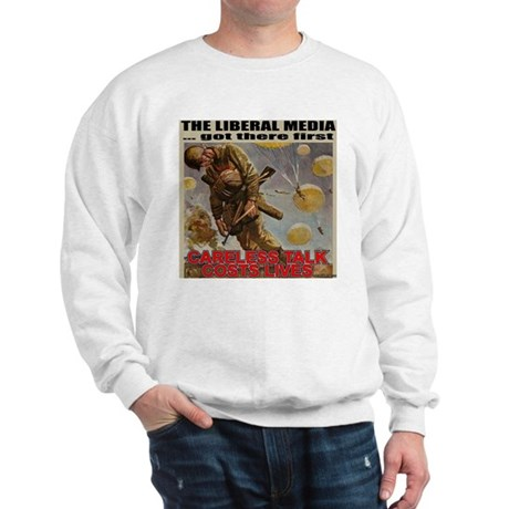 "Liberal Media ""Careless Talk"" Sweatshirt"
