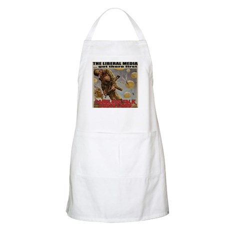 "Liberal Media ""Careless Talk"" BBQ Apron"