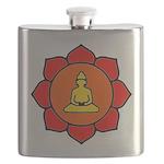 Sitting Lotus Flask